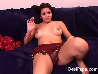Indian Couple fucking hardcore in the living room