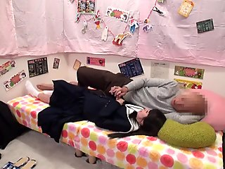 Incredible Japanese chick in Crazy Teens JAV movie