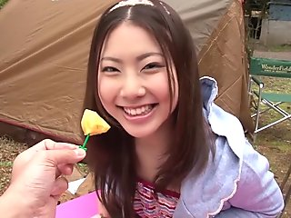 Exotic Japanese chick in Incredible HD, Outdoor JAV video