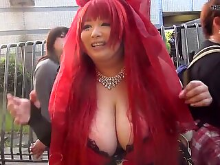 Japanese Girl With Massive Tits (Part 1)