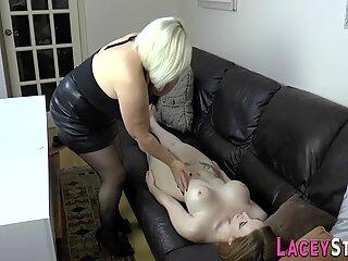 Zara doll fucking grandma via strapon