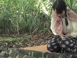 Best Japanese girl in Horny HD, Outdoor JAV clip